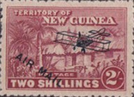 "[Airmail - No. 1-13 Overprinted ""AIRMAIL"" and Plane, type B9]"