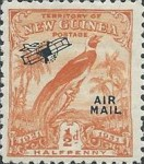 "[Airmail - No. 27-39 & Not Issues Stamp Overprinted ""AIRMAIL"" and Plane - Dated Scrolls, type D]"