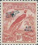 "[Airmail - No. 27-39 & Not Issues Stamp Overprinted ""AIRMAIL"" and Plane - Dated Scrolls, type D12]"