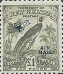 "[Airmail - No. 27-39 & Not Issues Stamp Overprinted ""AIRMAIL"" and Plane - Dated Scrolls, type D13]"