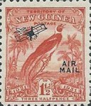"[Airmail - No. 27-39 & Not Issues Stamp Overprinted ""AIRMAIL"" and Plane - Dated Scrolls, type D2]"