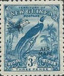 "[Airmail - No. 27-39 & Not Issues Stamp Overprinted ""AIRMAIL"" and Plane - Dated Scrolls, type D4]"