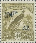 "[Airmail - No. 27-39 & Not Issues Stamp Overprinted ""AIRMAIL"" and Plane - Dated Scrolls, type D5]"