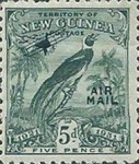 "[Airmail - No. 27-39 & Not Issues Stamp Overprinted ""AIRMAIL"" and Plane - Dated Scrolls, type D6]"