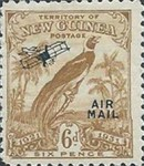 "[Airmail - No. 27-39 & Not Issues Stamp Overprinted ""AIRMAIL"" and Plane - Dated Scrolls, type D7]"