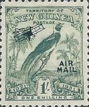 "[Airmail - No. 27-39 & Not Issues Stamp Overprinted ""AIRMAIL"" and Plane - Dated Scrolls, type D9]"
