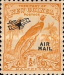 "[Airmail - No. 54-69 Overprinted ""AIRMAIL"" and Plane, type F]"