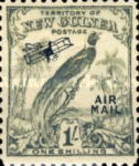 "[Airmail - No. 54-69 Overprinted ""AIRMAIL"" and Plane, type F11]"