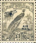 "[Airmail - No. 54-69 Overprinted ""AIRMAIL"" and Plane, type F15]"