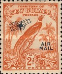 "[Airmail - No. 54-69 Overprinted ""AIRMAIL"" and Plane, type F3]"