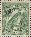 "[Airmail - No. 54-69 Overprinted ""AIRMAIL"" and Plane, type F4]"