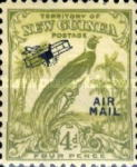 "[Airmail - No. 54-69 Overprinted ""AIRMAIL"" and Plane, type F7]"
