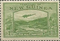 [Plane over Bulolo Goldfield - New Design, type J1]
