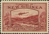 [Plane over Bulolo Goldfield - New Design, type J10]