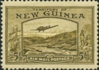 [Plane over Bulolo Goldfield - New Design, type J11]
