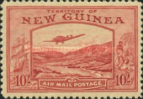 [Plane over Bulolo Goldfield - New Design, type J12]