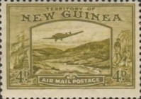 [Plane over Bulolo Goldfield - New Design, type J5]