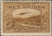 [Plane over Bulolo Goldfield - New Design, type J7]