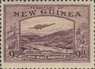 [Plane over Bulolo Goldfield - New Design, type J8]