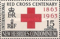 [The 100th Anniversary of the International Red Cross, type AB]