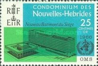 [Inauguration of W.H.O. Headquarters, Geneva - French Version, type BX1]