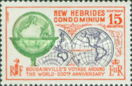 [The 200th Anniversary of Bougainville's World Voyage - English Version, type CU]