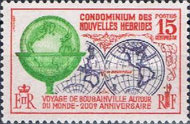 [The 200th Anniversary of Bougainville's World Voyage - French Version, type CU1]