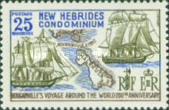 [The 200th Anniversary of Bougainville's World Voyage - English Version, type CV]
