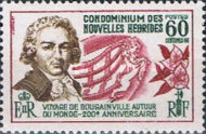 [The 200th Anniversary of Bougainville's World Voyage - French Version, type CW1]