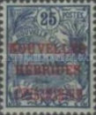 """[New Caledonia Postage Stamps Overprinted """"NOUVELLES - HEBRIDES - CONDOMINIUM"""", type D2]"""