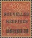 """[New Caledonia Postage Stamps Overprinted """"NOUVELLES - HEBRIDES - CONDOMINIUM"""", type D3]"""