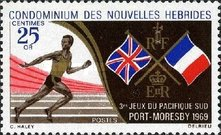 [South Pacific Games, Port Moresby - French Version, type DG1]