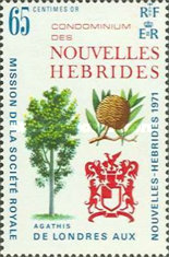 [Royal Society's Expedition to New Hebrides - French Version, type EK1]