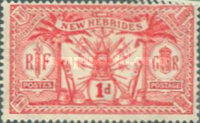 [Weapons and Totem Poles - British-French Joint Issue, type F1]