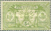 [Weapons and Totem Poles - British-French Joint Issue, type F4]