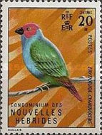 [Birds,Shells and Native Art - French Version, type FB1]