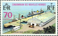 [Opening of New Wharf at Villa - French Version, type GN1]
