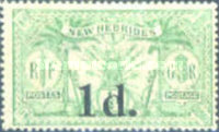 [Stamps of 1911-1912 Surcharged, type H]