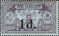 [Stamps of 1911-1912 Surcharged, type H3]