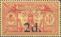 [Stamps of 1911-1912 Surcharged, type H5]