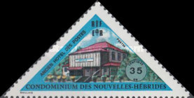 [Inauguration of New Post Office - French Version, type HK1]