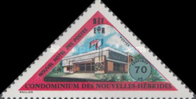 [Inauguration of New Post Office - French Version, type HL1]