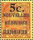 [Stamps of 1908-1912 Surcharged, type I]