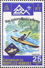 [World Scout Jamboree, Norway - French Version, type IE1]