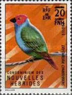 [Stamps of 1972 Surcharged - French Version, type JV1]