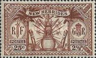 [Weapons and Totem Poles - British-French Joint Issue, type K3]
