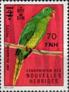 [Stamps of 1972 Surcharged - French Version, type KB1]