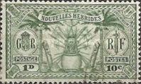 [Weapons and Totem Poles - British-French Joint Issue, type L1]
