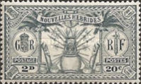 [Weapons and Totem Poles - British-French Joint Issue, type L2]