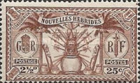 [Weapons and Totem Poles - British-French Joint Issue, type L3]